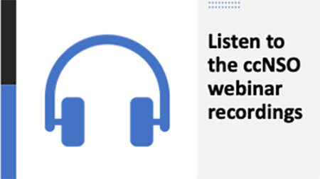 ccNSO Webinar Recordings
